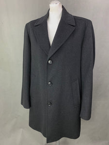 HUGO BOSS Mens ROAD Cashmere & Virgin Wool COAT Size IT 52 - XL Extra Large