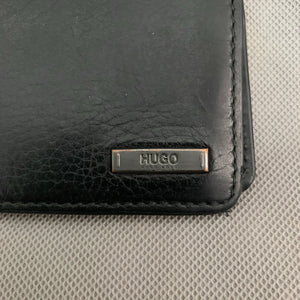HUGO Hugo Boss Mens Black Leather WALLET