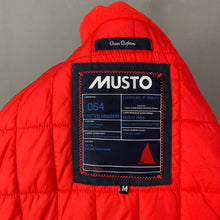 Load image into Gallery viewer, MUSTO Ladies Ocean Outfitters Navy Blue Quilted COAT - Size Medium M