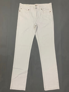 "PAUL SMITH Ladies White Denim JEANS Size Waist 28"" - Leg 29"""