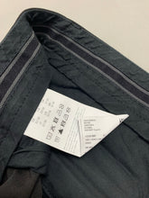 "Load image into Gallery viewer, HUGO BOSS & MERCEDES Mens Black Cargo TROUSERS Size Waist 32"" - Leg 29"""