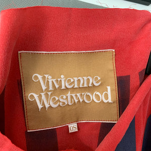 VIVIENNE WESTWOOD Unisex CLIMATE REVOLUTION Red TOP - O/S - One Size