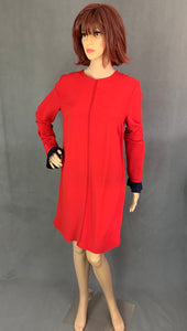 VICTORIA BECKHAM Ladies Red DRESS - Size IT 44 - UK 12