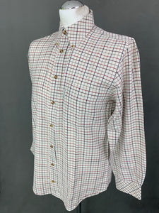 BARBOUR Mens Comfort Fit SCOTLAND CHECK 2 SHIRT - Size Small S