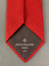 Load image into Gallery viewer, PATEK PHILIPPE GENEVE 2014 100% SILK TIE - Made in France