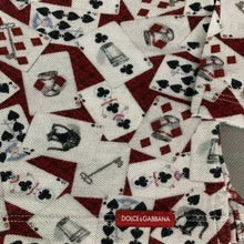 Load image into Gallery viewer, DOLCE & GABBANA Playing Cards POLO SHIRT - Size Age 3 - 6 Months