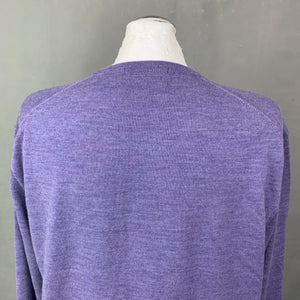 POLO by RALPH LAUREN Mens Purple Crew Neck JUMPER - Size XL Extra Large