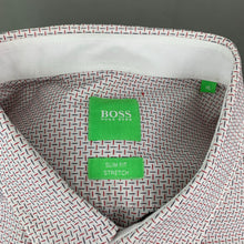 Load image into Gallery viewer, HUGO BOSS Mens Stitch Pattern SHIRT - Size XL Extra Large