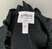 Load image into Gallery viewer, ARMANI COLLEZIONI Ladies Black CARDIGAN - Size IT 44 - UK 12