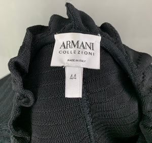 ARMANI COLLEZIONI Ladies Black CARDIGAN - Size IT 44 - UK 12