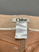 Load image into Gallery viewer, CHLOÉ Ladies BICHE TROUSERS Size FR 38 - UK 10 - Made in France CHLOE
