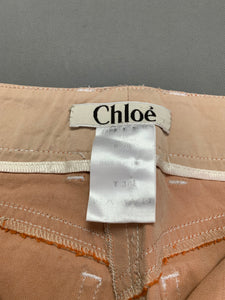 CHLOÉ Ladies BICHE TROUSERS Size FR 38 - UK 10 - Made in France CHLOE