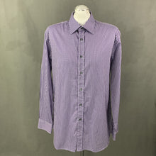 "Load image into Gallery viewer, PAUL SMITH London Mens Purple Checked SHIRT Size 17"" Collar - 2XL XXL"