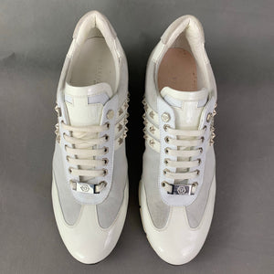 PHILIPP PLEIN Mens White Trainers / Shoes - Size EU 44 - UK 10