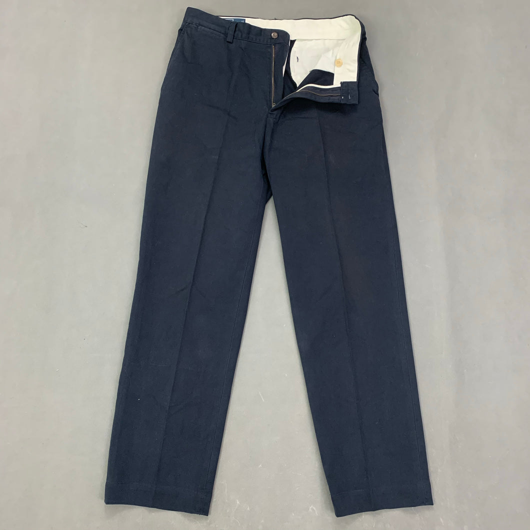 POLO by Ralph Lauren Mens Navy PROSPECT PANT TROUSERS / CHINOS Size Waist 32