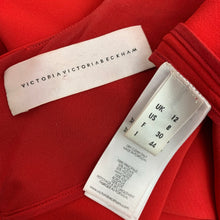 Load image into Gallery viewer, VICTORIA BECKHAM Ladies Red DRESS - Size IT 44 - UK 12