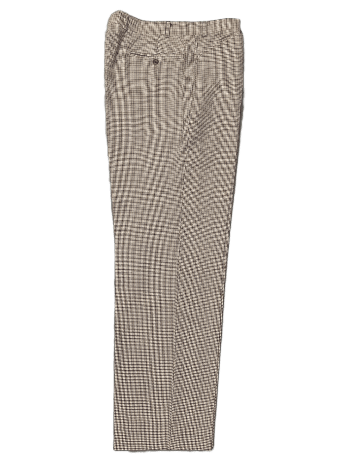 AQUASCUTUM Mens VICUNA CLUB CHECK Tapered Leg TROUSERS Waist 36