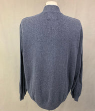 Load image into Gallery viewer, OSPREY by GRAEME ELLISDON LUXURY KNITWEAR Blue JUMPER Size L Large