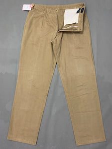 "GANT Mens BRUSHED NEWPORT Tapered Leg TROUSERS Size Waist 36"" - Leg 33"""