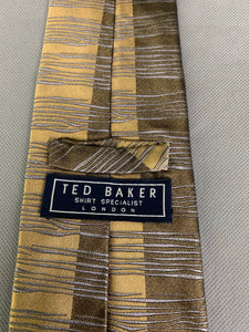 TED BAKER ALL SILK TIE