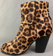 Load image into Gallery viewer, RAG & BONE LEOPARD PRINT PONY SKIN HEELED BOOTS Size EU 36 - UK 3 - US 6