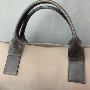 FABIANA FILIPPI Large Leather Handbag / Tote Bag - Made in Italy
