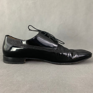 CHRISTIAN LOUBOUTIN Mens Black Leather Dress Shoes - Size EU 43.5 - UK 9.5