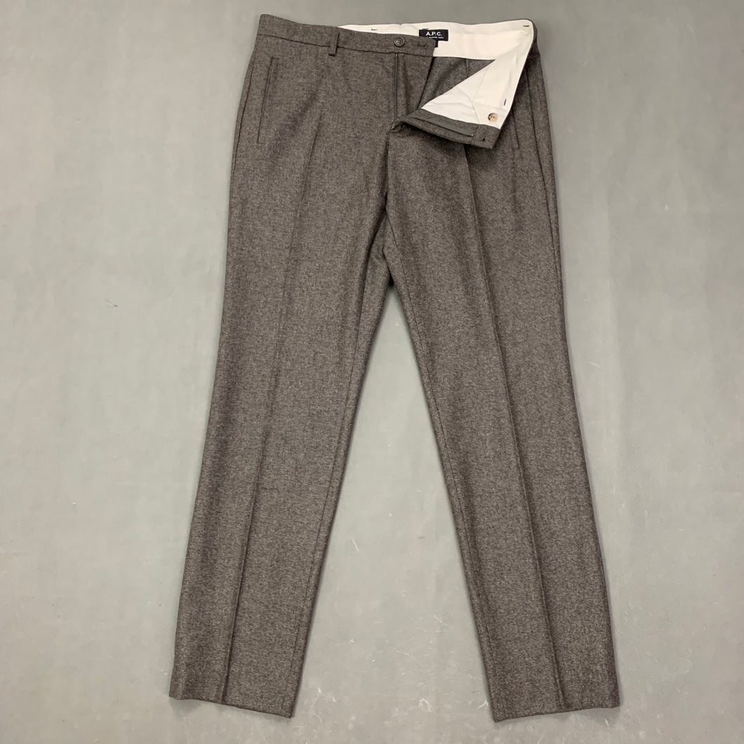A.P.C. Mens Wool TROUSERS Size XL - Waist 36