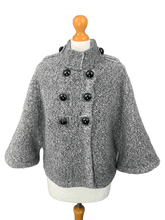 Load image into Gallery viewer, D.EXTERIOR Ladies MOHAIR & WOOL Blend JACKET / COAT Size M MEDIUM