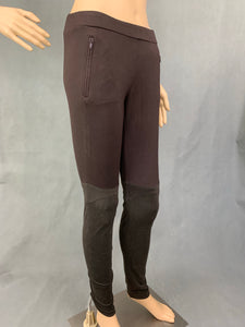 PINKO Ladies Brown ONDULANZA LEGGING TROUSERS - Size Medium M