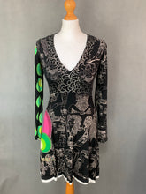 Load image into Gallery viewer, DESIGUAL Ladies Long Sleeved Fit & Flare DRESS - Size S Small
