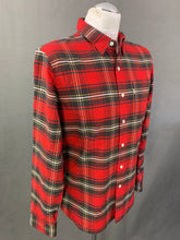 Load image into Gallery viewer, LEVI STRAUSS &Co Mens Red Checked SHIRT - Size Medium M LEVI'S LEVIS