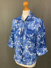 Load image into Gallery viewer, MAX MARA Weekend Linen BLOUSE / SHIRT Size IT 40 - UK 8 MAXMARA