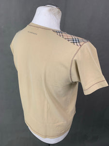 BURBERRY London Mens NOVA CHECK T-SHIRT Size M Medium TSHIRT TEE