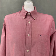 Load image into Gallery viewer, TOMMY HILFIGER Mens Long Sleeved SHIRT - Size M Medium