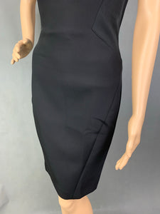 New TED BAKER Ladies EGLAND Black DRESS Ted Size 1 - UK 8 - XS - BNWT