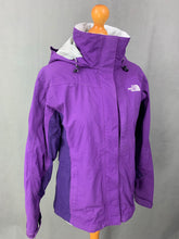 Load image into Gallery viewer, THE NORTH FACE Ladies Purple HYVENT COAT / JACKET Size S Small