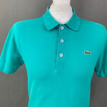 Load image into Gallery viewer, LACOSTE SPORT Mens Green POLO SHIRT LACOSTE Size 3 - Small S