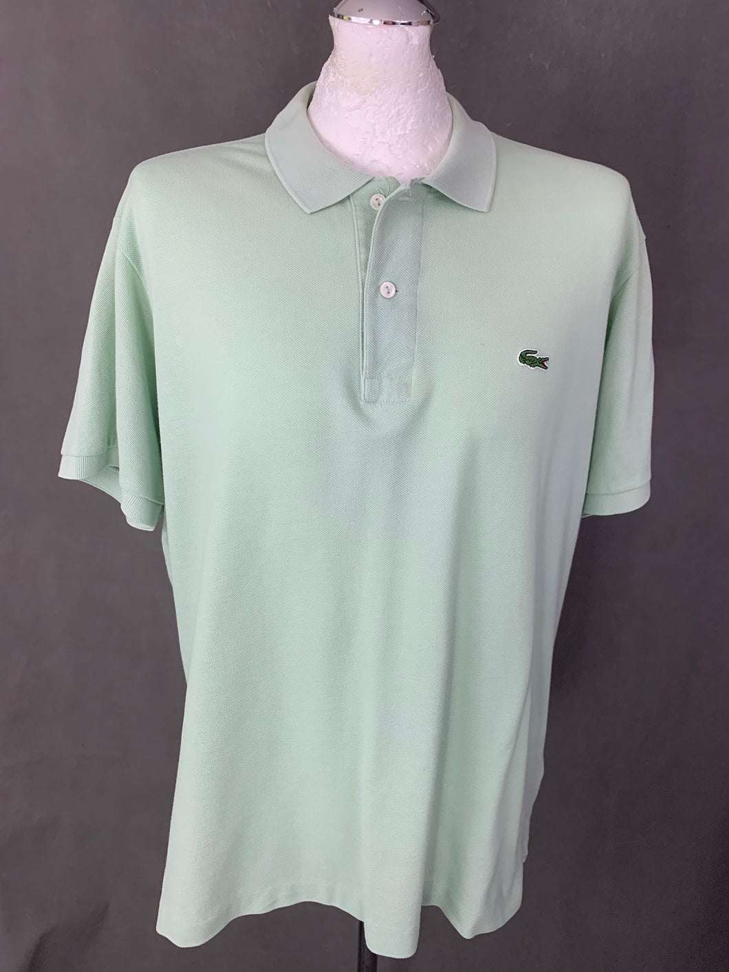 LACOSTE Mens Green POLO SHIRT - LACOSTE Size 7 - 2XL XXL