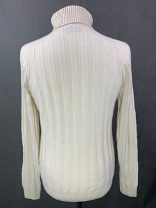 GANT Mens Roll Neck Wool Blend JUMPER - Size M Medium