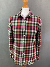Load image into Gallery viewer, JACK WILLS Ladies Check Pattern FLANNEL SHIRT - Size UK 10