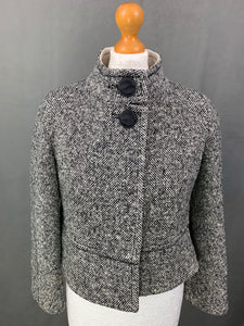MAXMARA Ladies VIRGIN WOOL Blend COAT Size UK 8 - IT 40 MAX MARA