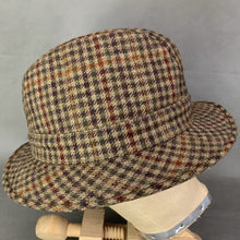 Load image into Gallery viewer, CHRISTYS' TWEED TRILBY HAT Size 57 - Large - L