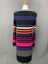 Load image into Gallery viewer, HOBBS London CASHMERE & SILK Blend JUMPER DRESS - Size UK 12