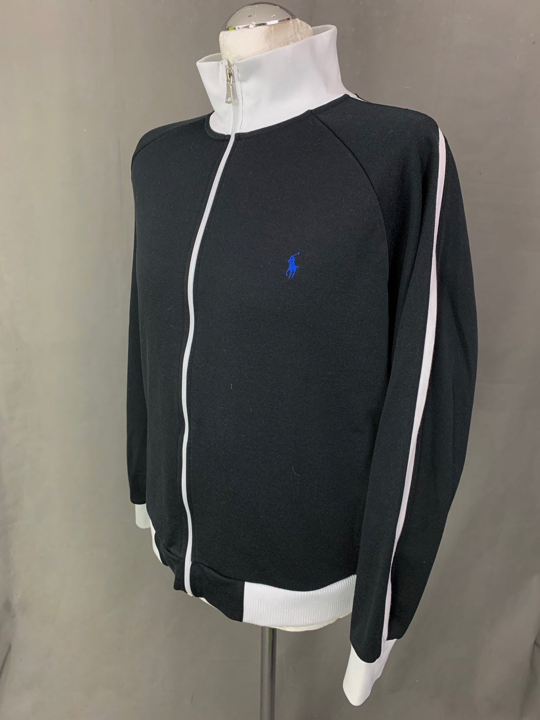 POLO by RALPH LAUREN Mens Black Softshell Jacket / Coat - Size Large L