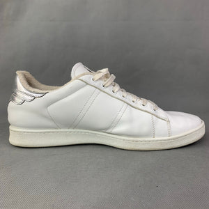 JOHN RICHMOND Mens White Lace-Up Trainers / Shoes Size 43 - UK 9