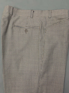 "AQUASCUTUM Mens VICUNA CLUB CHECK Tapered Leg TROUSERS Waist 36"" - Leg 29"""