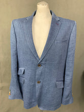 Load image into Gallery viewer, TED BAKER Mens EELS 100% LINEN BLAZER / JACKET Size 44R - Chest 44""