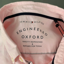 Load image into Gallery viewer, New TOMMY HILFIGER Mens ENGINEERED OXFORD Pink SHIRT - Size 2XL XXL BNWT