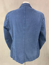 "Load image into Gallery viewer, L.B.M. 1911 Mens Blue Cotton SPORTS JACKET / Blazer Size IT 52 - 42"" Chest XL Extra Large"
